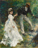Art Prints of La Promenade by Pierre-Auguste Renoir
