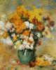 Art Prints of Vase of Chrysanthemums by Pierre-Auguste Renoir