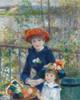 Art Prints of Two Sisters on the Terrace by Pierre-Auguste Renoir