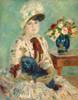 Art Prints of Mademoiselle Charlotte Berthier by Pierre-Auguste Renoir