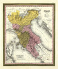 Art Prints of Northern Italy, 1846 (0537058) by Samuel Augustus Mitchell