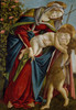 Art Prints of Madonna and Child with Saint John the Baptist by Sandro Botticelli
