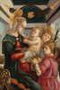 Art Prints of Madonna and Child with Angels by Sandro Botticelli