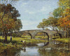 Art Prints of The Old Bridge by Theodore Robinson