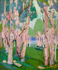 Art Prints of Pink Birches, Summer by Tom Thomson