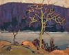 Art Prints of Purple Hill by Tom Thomson