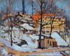 Art Prints of Twilight, Winter by Tom Thomson