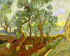 Art Prints of A Corner of the Asylum by Vincent Van Gogh