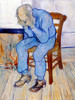 Art Prints of At Eternity's Gate by Vincent Van Gogh