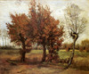 Art Prints of Autumn Landscape by Vincent Van Gogh
