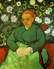 Art Prints of La Berceuse Madame Augustine Roulin, 1889 by Vincent Van Gogh