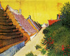 Art Prints of Street in Saintes Maries by Vincent Van Gogh