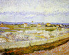 Art Prints of The Plain of La Crau with Peach Trees in Blossom by Vincent Van Gogh