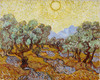 Art Prints of Olive Trees by Vincent Van Gogh