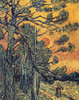Art Prints of Pines at Sunset, 1889 by Vincent Van Gogh