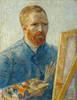 Art Prints of Self Portrait as a Painter I, 1888 by Vincent Van Gogh