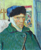 Art Prints of Self Portrait with Bandaged Ear by Vincent Van Gogh