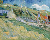Art Prints of Thatched Cottages and Houses by Vincent Van Gogh