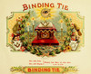 Art Prints of Binding Tie Cigars, Vintage Cigar Label