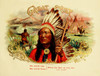 Art Prints of Great Chief Cigars, Vintage Cigar Label