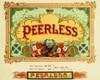 Art Prints of Peerless Cigars, Vintage Cigar Label