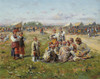 Art Prints of The Village Fair by Vladimir Egorovich Makovsky