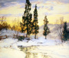 Art Prints of Sunlight Reflections by Walter Launt Palmer