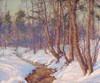 Art Prints of Upland Stream, Mohawk Valley by Walter Launt Palmer
