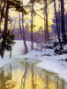 Art Prints of The New Moon by Walter Launt Palmer