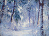 Art Prints of Winter Forest by Walter Launt Palmer