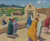 Art Prints of After the Chapel Hour by Walter Ufer