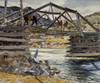 Art Prints of Crossing the Rio Grande by Walter Ufer