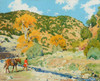 Art Prints of Crossing the Creek by Walter Ufer