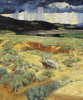 Art Prints of Where the Desert Meets the Mountain (detail) by Walter Ufer
