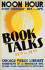 Art Prints of Book Talks, Noon Hour (399115), WPA Poster