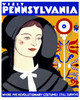 Art Prints of Visit Pennsylvania, WPA Poster