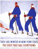 Art Prints of They Like Winter in New York State (399157), Travel Poster