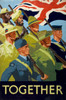 Art Prints of Unity of Strength Together, WWII Patriotic Posters