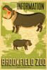 Art Prints of Information, Brookfield Zoo, Travel Posters