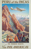 Art Prints of Peru of the Incas, Travel Posters