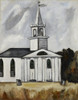 Church at Lead Tide by Marsden Hartley | Fine Art Print