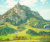 Art Prints of Where Nature's God Hath Wrought by William Wendt