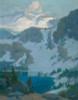 Art Prints of Sierra lake by Elmer Wachtel