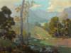 Art Prints of Summer Splendor along a Stream by Elmer Wachtel