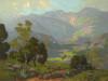 Art Prints of Homes Beneath the Hills by Elmer Wachtel