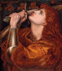 Art prints of Joan of Arc by Dante Gabriel Rossetti