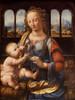 Art prints of Madonna of the Carnation by Leonardo da Vinci