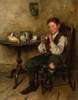 Art prints of Tinwhistle Boy by Charles Spencelayh