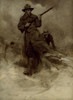 Art prints of Spanish-American War Soldiers in Action by Frederic Remington