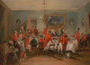 Art prints of Bachelors Hall, 1836, The Hunt Breakfast by Francis Calcraft Turner